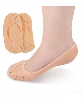 Holy Ratna Anti Crack Full Silicon Foot Moisturizing Socks