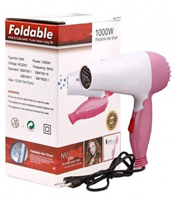 Holy Ratna Foldable Hair Dryer NV1290-1000W