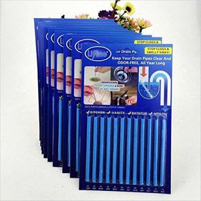 Sani Sticks Drain Cleaner and Deodorizer Blue Drain Cleaner