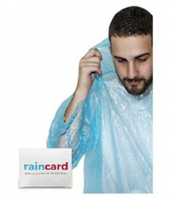 Holy Ratna Credit Card Sized Raincoat for Unisex