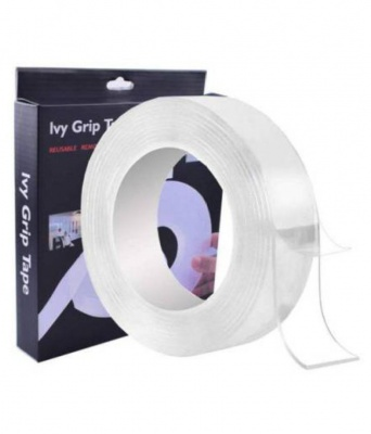 Double Sided Magic Tape Removable Reusable Washable