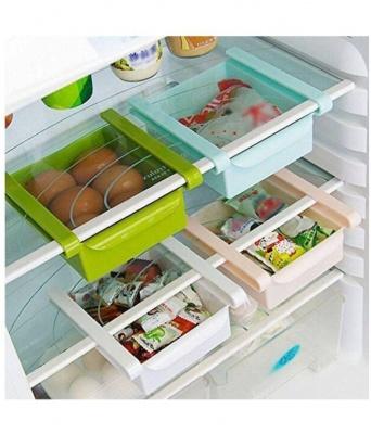 Multipurpose Fridge Storage Sliding Storage Drawer Rack - (Pack Of 4)