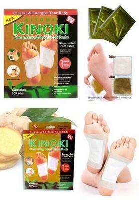 Drona Gold Kinoki Cleansing Detox Foot Pads-30 pcs