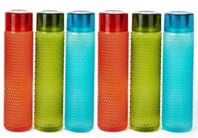 Holy Ratna Bubble Shape Designer Water Bottle pack of 6