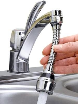 "Flex 360° Flexible 6"" Faucet Sprayer Extension Jet Stream/Water Saving Faucet, Flexible Turbo Flex 360 Sink Faucet Sprayer Jet Fucet holy ratna"