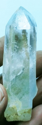 Holy Ratna AAA+++ HIMALAYAN CLEAR QUARTZ CRYSTAL WAND POINT. HIGH VIBRATION Fresh&full of high vibration energy from the Himalayas! 63 gm