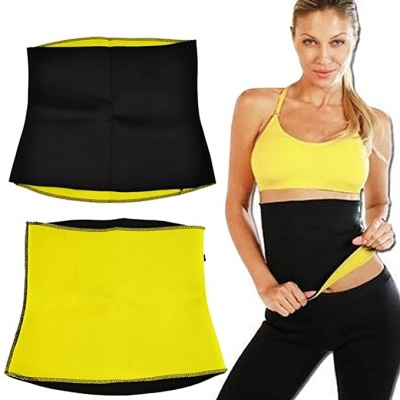 Dream Value  Neoteax Offer Hot Shapers Slimming Belt 3XL_Black
