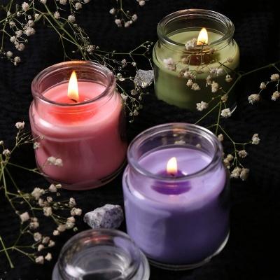 Holyratna Jar Candle, Pack of 3, Lavender;Lemon Grass;Rose